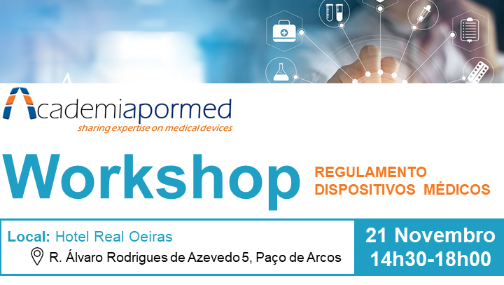 Workshop Regulamento Europeu Dispositivos Médicos